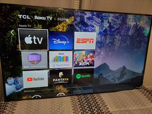 TV65 TCL- ROKU 4K and Audio system ViZIO for Sale in Kent, WA