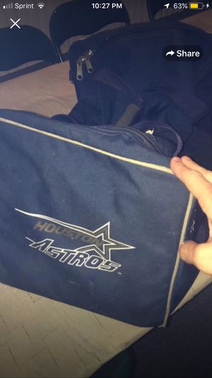 Houston Astros authentic gym equipment bag team apparel for Sale in Rochester, MI
