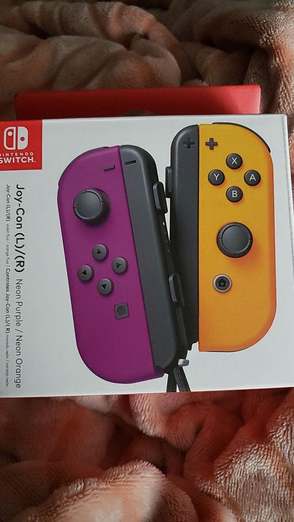 New Nintendo Switch Joy-Con (neon)