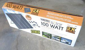 100 watt solar panels kit. Complete for Sale in Pasco, WA