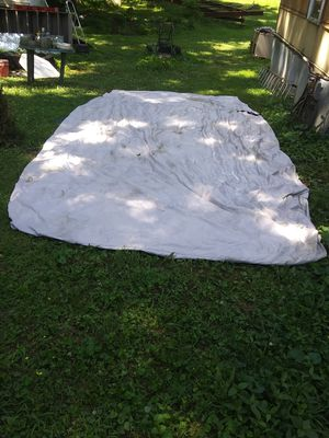 18 foot pontoon. Boat cover for Sale in Brookport, IL