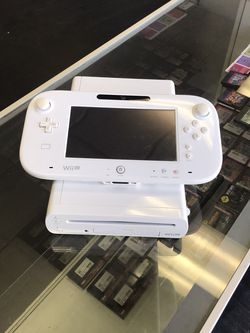 White Nintendo Wii U Console With Cables for Sale in Downey,  CA