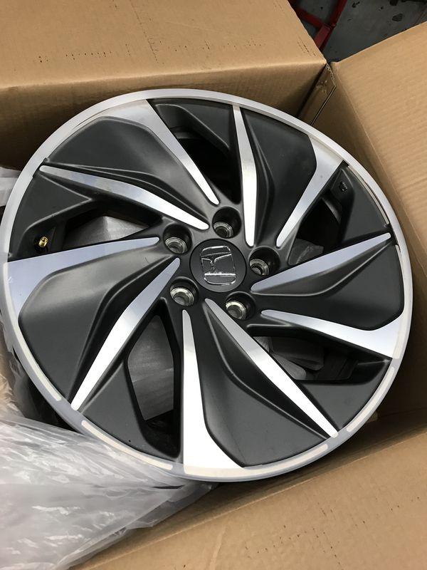 "2019 Honda Insight Touring 4 RIMS OEM Wheel Rims 17"" Used for 3k miles"