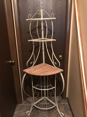Corner stand. $20.00 wine rack stand. $40.00. Both for $55.00 for Sale in Lewisburg, PA