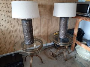 Lamps and side tables. for Sale in Fort Myers, FL