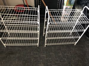 Two white racks for Sale in Dana Point, CA