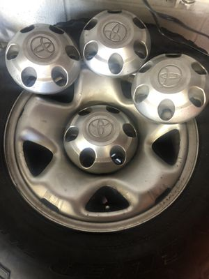 Wheels and tires for Toyota for Sale in Puyallup, WA