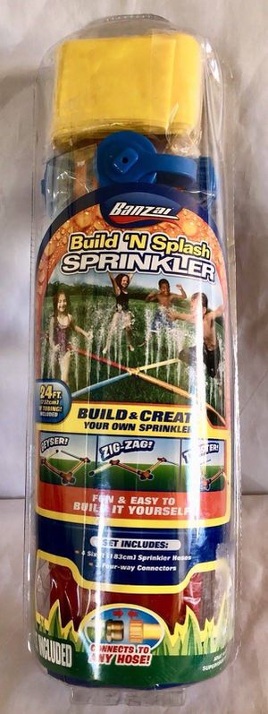 BANZAI summer toy build and splash sprinkler for Sale in Chula Vista, CA