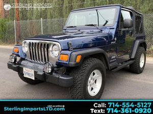 2005 Jeep Wrangler for Sale in Santa Ana, CA