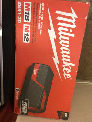 Milwaukee New speaker wireless(tool only) Nuevo for Sale in Los Angeles, CA