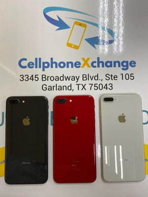 IPHONE 8 PLUS 64GB GREAT CONDITION T-MOBILE AND METRO PCS OR AT&T AND CRICKET for Sale in Garland, TX
