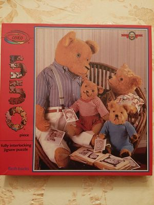 Jigsaw Puzzle, 1987, Teddy Bears for Sale in West Dundee, IL