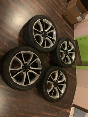 Dodge Charger rims and tires for Sale in Rocky Point, NC