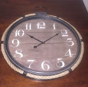 Home decor wall clock new!!! for Sale in Silver Spring, MD