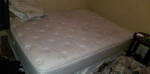 King size bed with a lil bit of water stains for Sale in Wichita, KS