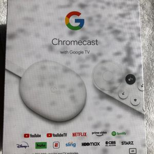 Google Chromcast W Remote Sealed for Sale in St. Petersburg, FL