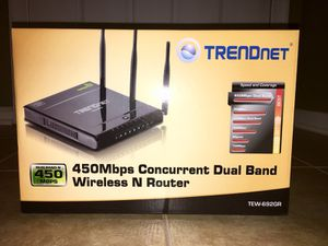 Trend net wireless N router for Sale in Gainesville, VA