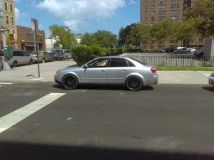 02 Audi a4/ b6 model manual transmission runs good no engine light recently did timing belt water pump cam seals valve cover gasket Many new parts for Sale in Brooklyn, NY