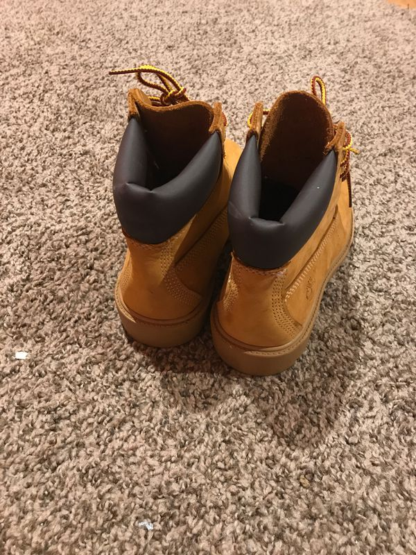 Shoes timberland never be used I get the wrong size. Size 1