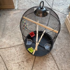 Round Black Cage for Sale in Tustin, CA