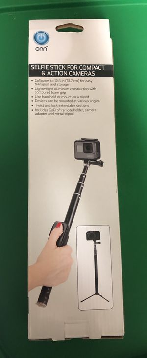 Selfie stick for compact & action cameras for Sale in Norcross, GA