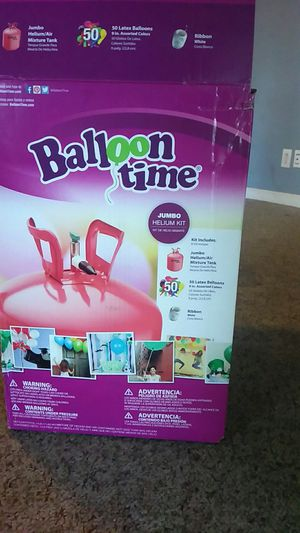 Balloon time/inflater for Sale in Murfreesboro, TN