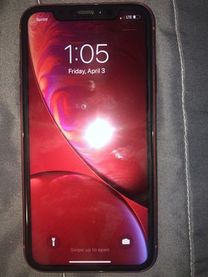 iPhone XR PRODUCT (RED) 64 GB Sprint for Sale in Riverside, CA