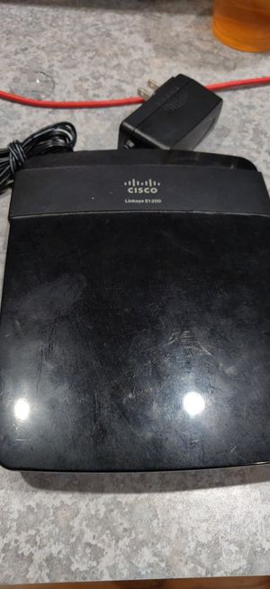 Linksys E1200 Router DD-WRT installed for Sale in Spanaway, WA