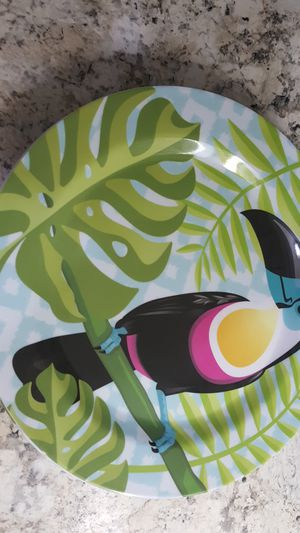 Melamine 4 pcs plates for Sale in Powell, OH