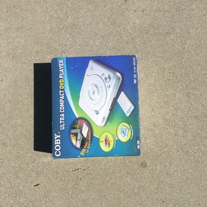 Coby Ultra Compact DVD player for Sale in Santa Clara, CA