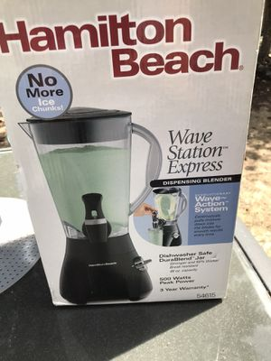 Wave Station Express Blender for Sale in Tacoma, WA