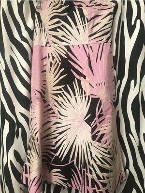 GAP STRETCH PRINT MINI DRESS SIZE 10 Pink White Black Tan Palmetto DESIGN for Sale in Winter Springs, FL