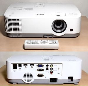 LCD Projector 3,000 Lumens XGA HD for Sale in Eastchester, NY