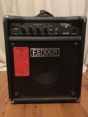 Fender bass amplifier for Sale in Saint Joseph, MO