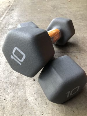 New Set of 10 Pound Weights for Sale in Montgomery Village, MD