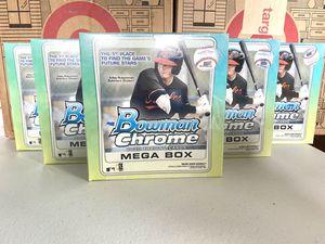 2020 Topps Bowman Chrome MLB Baseball Trading Cards Mega Box for Sale in Elgin, IL