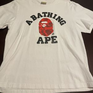 Bathing Ape Tee Shirts Size XL Used for Sale in Carpentersville, IL