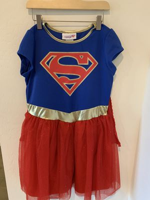 Super girl costume size 10/12 for Sale in Gilbert, AZ