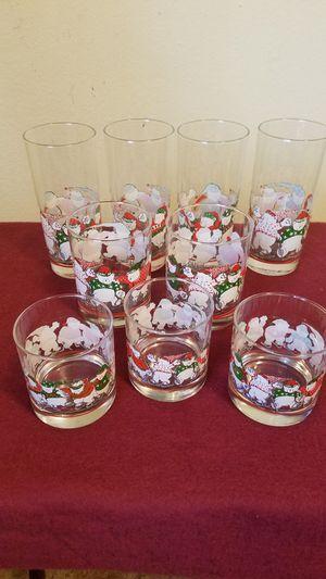 Princess House Christmas Glasses for Sale in Tacoma, WA