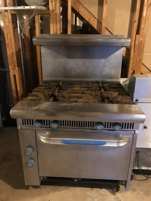 kitchen appliances ( oven with stove, oven , grill) for Sale in Cartersville, GA