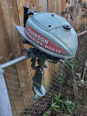 Johnson sea horse outboard motor for Sale in Portland, OR