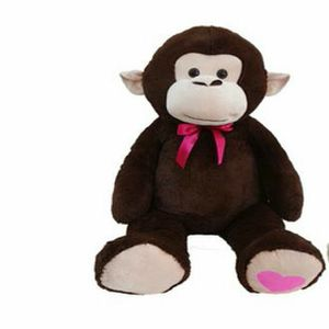 USED Giant 2xl PLUSH Monkey .... Added Photo With Dog To Show Size for Sale in Granada, MN