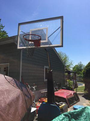 Basketball hoop - The beast for Sale in Middletown, NJ