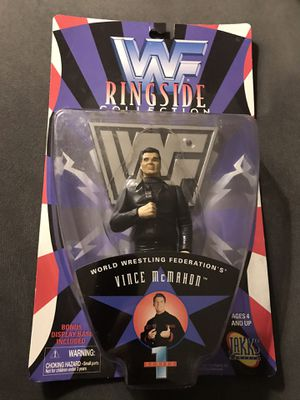 Vince McMahon WWF Action Figure for Sale in Lowell, MA