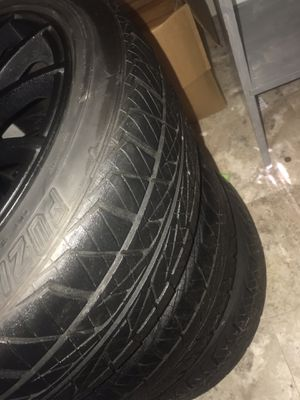 17 inch rims and tires for Sale in Lexington, NC