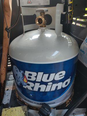 Blue Rhino Propane Tank for Sale in Mill Creek, WA