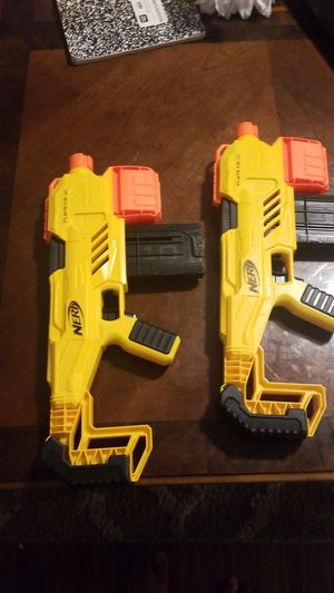 Two electric Nurf guns without darts for Sale in Chattanooga, TN