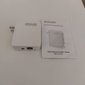 CrystalView WiFi Router/WiFi Extender (Model: A5) For Sale for Sale in Los Angeles, CA