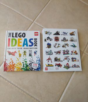 2 LIKE NEW Large Childrens Lego Ideas Books for Sale in Tampa, FL