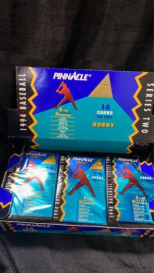 Vintage 1994 Pinnacle Baseball Hobby Packs-14 Cards per Pack! for Sale in El Paso, TX